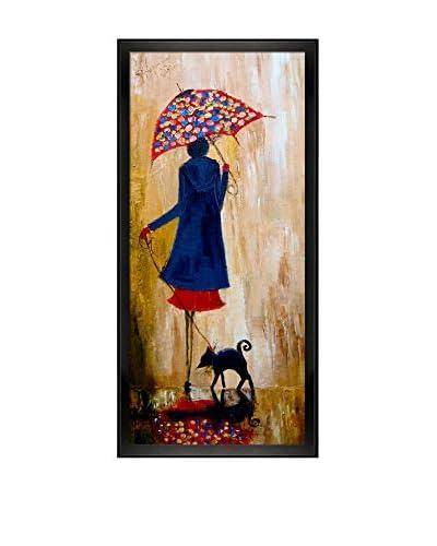 Justyna Kopania Rain (Early Morning) Framed Canvas Print