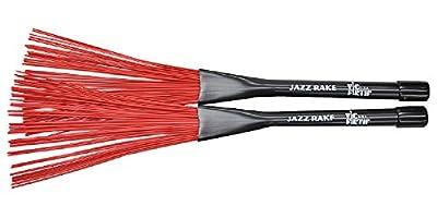 Vic Firth Jazz Rake red plastic
