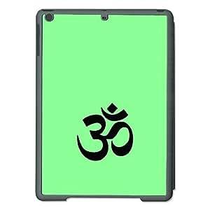"Skin4gadgets Hinduism Symbol ""OM"" on English Pastel Color-Pistachio Green Tablet Designer SMART CASE for IPAD AIR1"