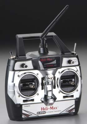 Helimax 6Ch 2.4GHz Transmitter Only Novus CP