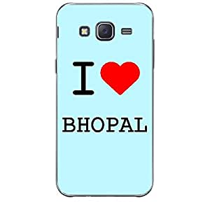 Skin4gadgets I love Bhopal Colour - Light Blue Phone Skin for SAMSUNG GALAXY J7