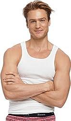 Hanes Men's Comfortsoft Double Dry Undershirts 5-Pack