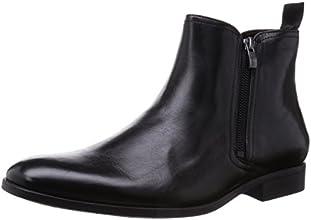 [クラークス] CLARKS バンフィールドジップ 26110930 Black Leather(ブラックレザー/065)