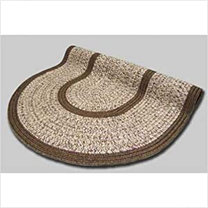 Click to buy Cabin Rugs: Town Crier Brown Heather Braided Rug from Amazon!