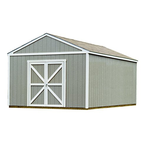 Handy Home Products Columbia Wooden Storage Shed, 12 by 24-Feet (Home 20 Feet compare prices)