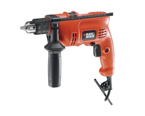 Bundle 2 Items: Black & Decker KR454RE 450W Hammer Drill, Acupwr Acucraft Plug Kit, WILL NOT WORK IN USA/CANADA OUTLETS, 220VOLT (Black Decker 220 Drill compare prices)