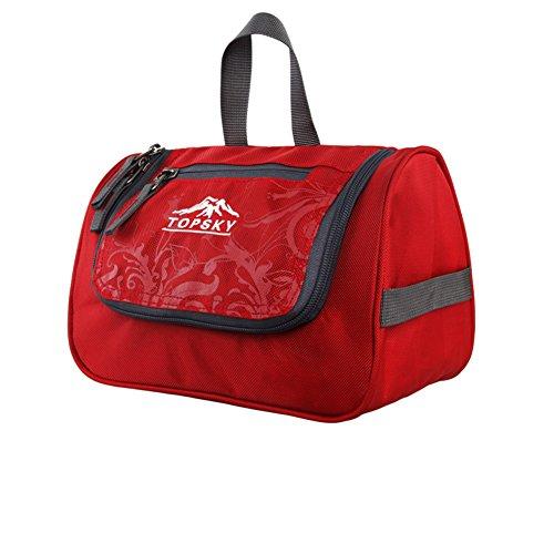 sac de lavage extérieur sac cosmétique / Voyage de Voyage fournitures essentielles package / d'admission-rouge
