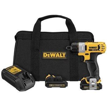 "Dewalt Dcf610S2R Factory Reconditioned 12 Volt Max 1/4"" Screwdriver Kit, N/A"