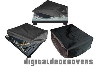 TECHNICS - Universal Nylon Turntable Dust Cover (Top Lid) for SL-1200 / SL-1210 & SL-12x0MKx from DigitalDeckCovers