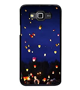 Printvisa Night Lamps In Sky 2D Hard Polycarbonate Designer Back Case Cover For Samsung Galaxy Grand 3 :: Samsung Galaxy Grand Max