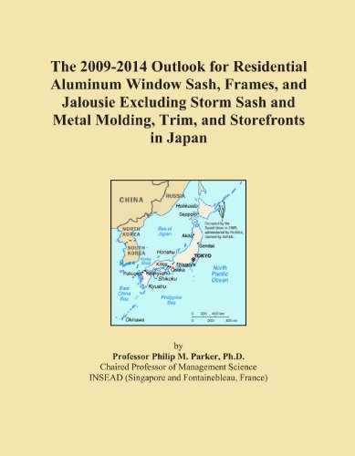 The 2009-2014 Outlook for Residential Aluminum Window Sash, Frames, and Jalousie Excluding Storm Sash and Metal Molding, Trim, and Storefronts in Japan