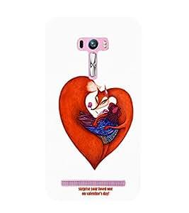 EPICCASE V-DAY Love Mobile Back Case Cover For Asus Zenfone Selfie (Designer Case)