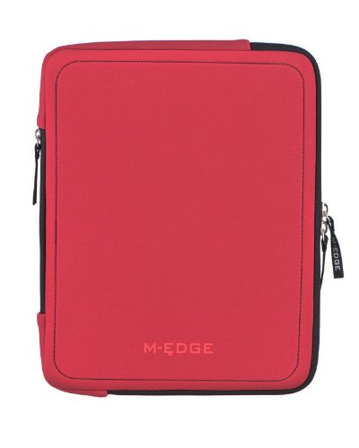 M-Edge Touring Sleeve for iPad 1 and 2 - Red (PAD1_S1_N_R)