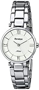 Armitron Women's 75/5239SVSV Silver-Tone Bracelet Watch