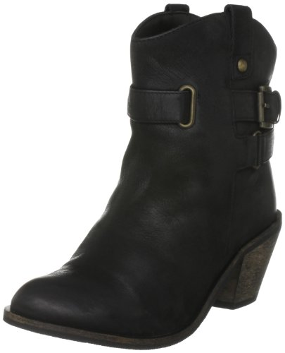 Head Over Heels Women's Genie Black Ankle Boots A11L/Le10/Lbc0130 6 UK