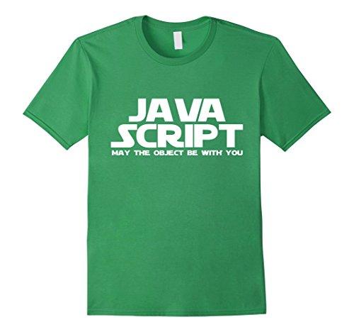 Men's Programmer Developer Javascript Funny T-Shirt Medium Grass