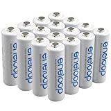 Sanyo Eneloop AA 16 Pack NiMH Pre-Charged Rechargeable Batteries -Newest version-FREE BATTERY HOLDER- Rechargeable 1800 times