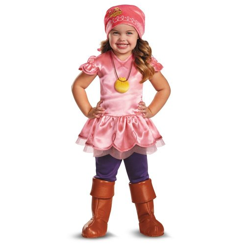 Peter Pan Disney Jr Jake & the Never Land Pirates Toddler Izzy Deluxe Costume