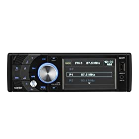 41VyfGTiXmL. SL500 AA280  Clarion VZ309 3.5 Inch Single DIN Car Receiver With Clarion THD309 HD Radio   $140 Shipped