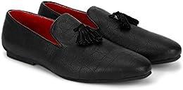 Eposch Mens Classy Black Tassel Casual Shoe