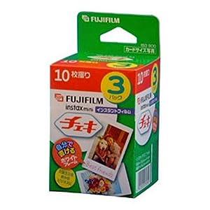 FUJIFILM Instax Mini Cheki Film 3pack(10picture X3)