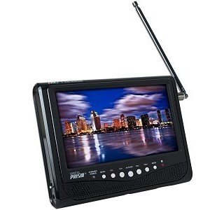 Digital Prism ATSC-710 7&quot; Portable Handheld LCD TV with Built in ATSC/NTSC Tuner (Black)