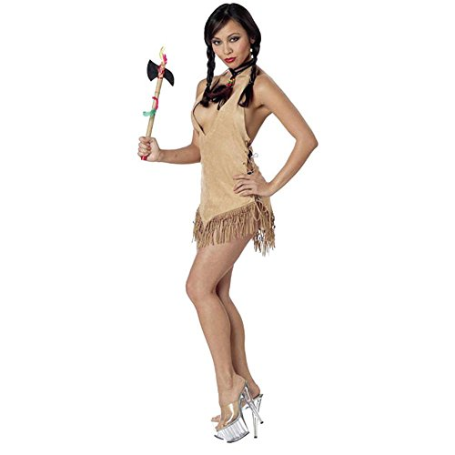 Sexy Adult Indian Woman Costume (Size: Medium 8-10)