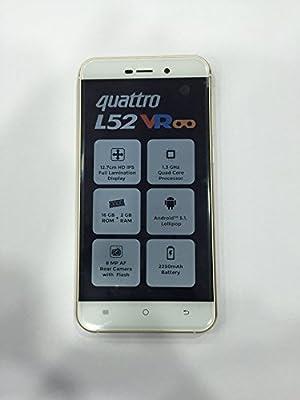 Karbonn Quattro L52 VR (Champagne & White, 16 GB)