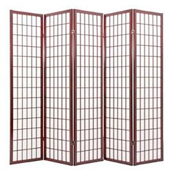 Cheap ACME 02277 Naomi 3-Panel Wooden Screen, Cherry Finish (Cherry, 5 panel)