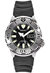 "Seiko Men's SKX779K3 ""Black Monster"" Automatic Dive Watch"