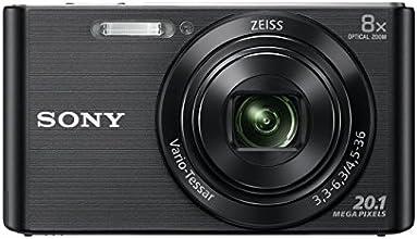 Sony DSC-W830 Cyber-shot Fotocamera Digitale Compatta con zoom ottico 8x, Nero