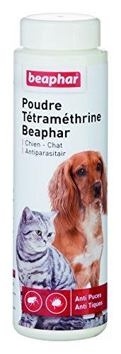 beaphar-poudre-antiparasitaire-a-la-tetramethrine-anti-puces-et-anti-tiques-chien-et-chat-150-g