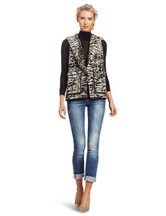 (超值)Diesel Snake Skint Knit Vest 意大利 迪赛 女士 羊毛 时尚 针织背心 $185.98