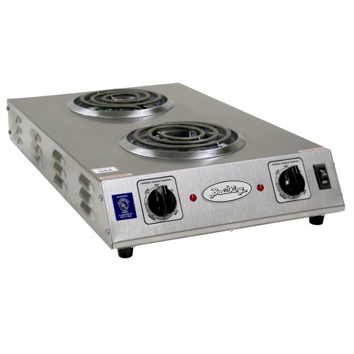 Broil King CDR-1TFBB Professional Double Space Saver Hot Plate, 13-1/2-Inch by 4-1/2-Inch by 22-3/4-Inch, Grey (Broil King Burner compare prices)