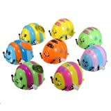 360 Degrees Rotation ABS Clockwork Mini Beetles Education Toys