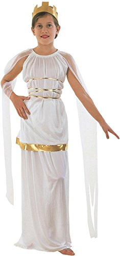 [Bristol Novelties Kids Fancy Dress Party Greek Grecian Goddess Book Week Day Outfit Small] (Athena Greek Goddess Costume Child)