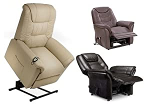 Riva Dual motor electric rise and recliner chair - choice of colours