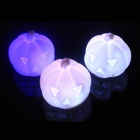 Geschenk-Idee! MagicLightz LED Kürbis-förmigen Farbwechsel Nachtlicht, LED-Kerze-Licht, Preis / Stück