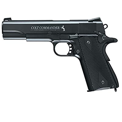 Umarex Colt Commander .177 BB Steel Air Gun, Black