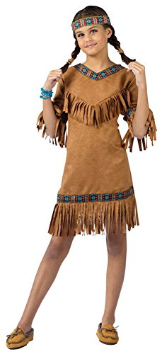 girls - American Indian Girl Child Md Halloween Costume