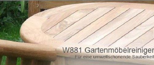 3,99EUR/L - 10L REINIGR FÜR GARTENMÖBEL HOLZ KUNSTSTOFF PFLEGE STOPPT STAUB SCHMUTZ GARTEN MÖBEL