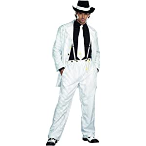 Zoot Suit Riot Costume - Large - Chest Size 42-44 by Morris Costumes