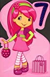 7th Birthday (Strawberry Shortcake), Birthday Greetings Card