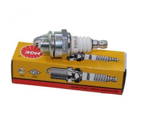 Zndkerze-NGK-BPM6A-passend-fr-viele-Motorsgen-Rasentrimmer-Freischneider-Motorsense-Pocket-Bike-Gartengerte-Modellmotoren-und-viele-2-Takt-Motoren