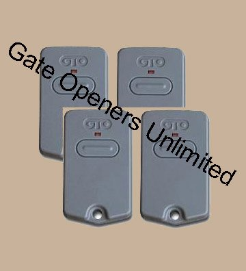 Images for 4 Pack - GTO Rb741 Transmitters / GTO PRO Transmitters or Clickers