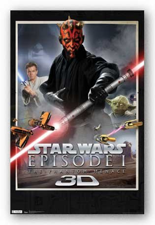 Star Wars Episode I The Phantom Menace 3D - Darth Maul 22