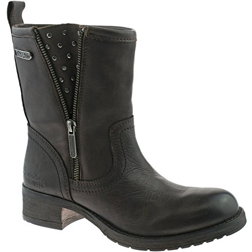 Wrangler Fire da donna marrone scuro Zip Stivali wl132580, marrone (Dark Brown), 37 EU