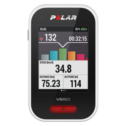 Polar V650 Cycling Computer with Heart Rate Monitor (Speed Sensor Polar compare prices)