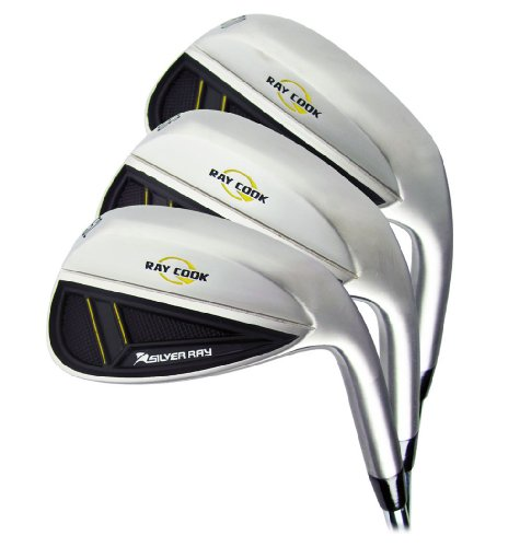Ray Cook Golf Silver Ray Right Handed 52/56/60 (Pack of 3) (Ray Cook Wedge compare prices)