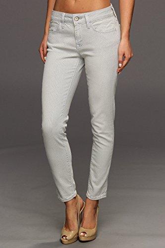 Mavi Women's Alexa Ankle Midrise Skinny Jean, Vichy Square, 24
